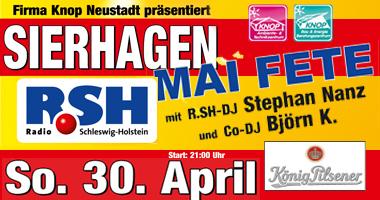 Supertanz mit Stefan Nanz Kultparty in Ostholstein, Neustadt, Sierhagen, Eutin,  Party